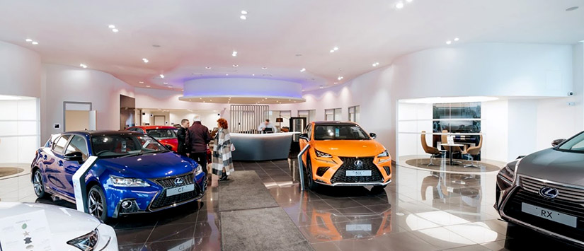 Inchcape Lexus and Toyota Derby
