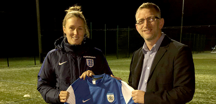 Adcock Support Launch Of Cambs FA Girls Coaching Season 2