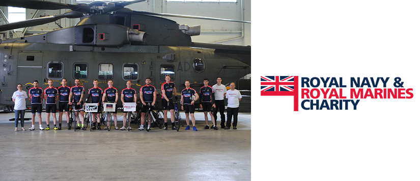 Adcock Sponsor 900 Mile Navy Charity Cycle